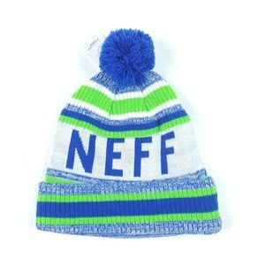 Neff Unisex Fold Over Champion Beanie